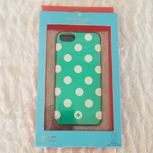 NWT Kate Spade iPhone 5 Snap on Cellphone Case